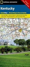 National Geographic GuideMap KY Kentucky Road Map & Travel Guide GM01020352