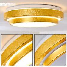 Plafonnier LED Lustre Design Lampe à suspension dorée Lampe de corridor 184557