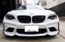 2PCS P STYLE CARBON FRONT SPLITTERS SPOILER WINGLETS FOR BMW F87 M2 ONLY