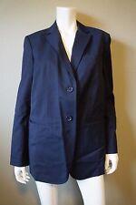 DKNY Donna Karan Navy Blue Classic Blazer Jacket Coat - Size S