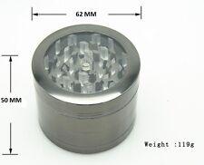Transparent Skylight  Herb Grinder 4 Layers Metal Tobacco Crusher Hand Muller