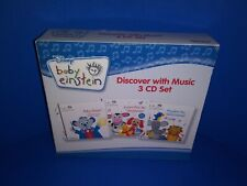 DISNEY BABY EINSTEIN DISCOVER WITH MUSIC 3 DISC CD SET - BABY MOZART PLAYDATE