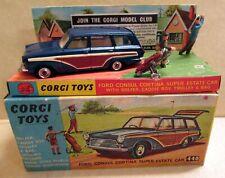Corgi Toys, 440  Ford Consul Cortina Super Estate Car,     original