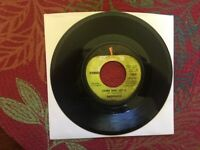 Two Badfinger 45 RPM Apple Records/Come and Get It/Rock of Ages&Baby Blue/Flying