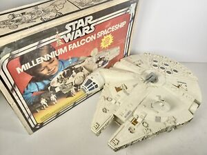 Star Wars Kenner Millenium Falcon 1979 Near Complete With Box Vintage Vehicle