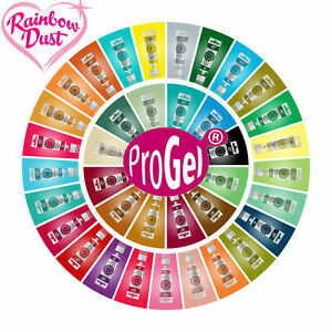 Rainbow Dust PROGEL 25g Edible Food Colour Sugarcraft Sugarpaste Cake Decorating