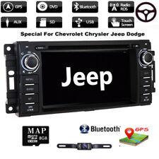 Camera+Car Stereo Radio DVD GPS Navigation For Jeep Wrangler Unlimited 2007-2018