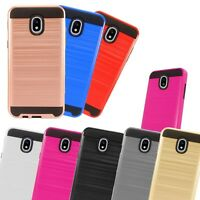 For Samsung Galaxy J3 / Orbit / Top 2018 Dual Layer Hybrid Case Cover METAGUARD