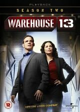 Warehouse 13 The Complete Season 2 Playback DVD Boxset Cert 12