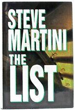 STEVE MARTINI — THE LIST — Putnam (1997) — BCE 07503 — excellent condition