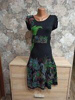 Desigual women's dress size M black color