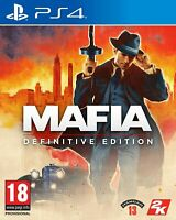 Mafia Definitive Edition Sony Playstation 4 PS4 Game