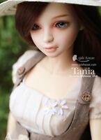 1/4 BJD Doll SD Doll Girl Tania Tatiana  Free Face Make UP+Free Eyes