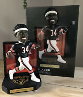 "WALTER PAYTON Chicago Bears EXCLUSIVE ""Matted Jersey Showcase"" Bobblehead NIB!"