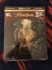 The Jungle Book (2016) 4K (Ultra HD / Blu-ray / Digital) Best Buy Steelbook
