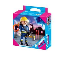 Playmobil Special 4675 Fire Fighter Set With Accessories 2007 New Sealed In Bag