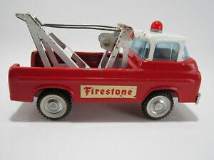"Vintage 1960's Nylint Toys Econoline American Emergency Tow Truck - ""Firestone"""