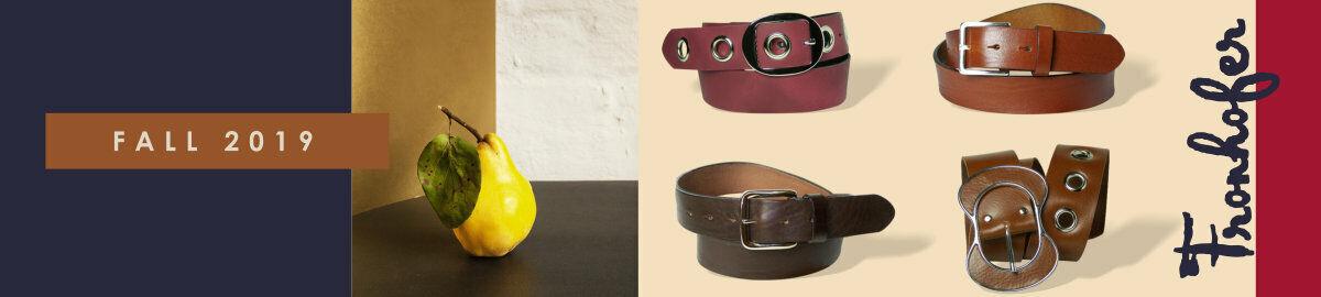 FRONHOFER Gürtel & Hundehalsbänder