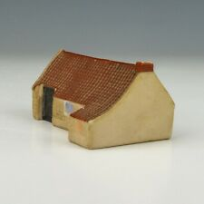 Antique Goss Crested China - Old Smithy House In Gullane - Cottage Figure