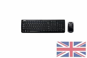 Asus W3000 Pack Clavier QWERTY United Kingdom et Souris sans fil