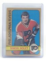 1972-73 Simon Nolet #125 Philadelphia Flyers OPC O-Pee-Chee Hockey Card I182