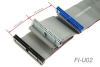 "24"" 40-Pin 80 Wire UDMA 66/100 IDE 2 Drive Cable FI-U02"