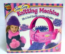 Sew Easy Knitting Machine #7525 Real Working Knitting Machine + 3 Skeins of Yarn