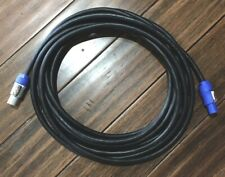 -USA MADE- 12 Gauge SJOOW 20ft PowerCon to PowerCon Power Cable