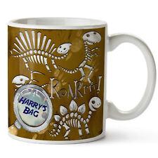 Personalised Mug Dino Fossil Boys Birthday Gift FS09
