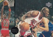 CHICAGO BULLS MICHAEL JORDAN 1994 UPPER DECK RARE AIR #85 DECADE OF DOMINANCE