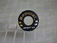 kiTki black BABOLAT aero tennis racquet vibration dampener shock absorber