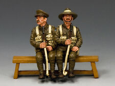 GA011-Q Sitting Anzacs Set #2 (Queensland) by King and Country