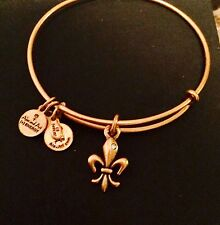 """ALEX AND ANI """"FRENCH ROYALTY"""" CHARM BRACELET IN RUSSIAN GOLD! NWT!"""