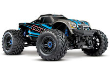Traxxas Maxx 4x4 1/10 RTR TQi Brushless TSM RC Monstertruck 2.4GHz BLUE