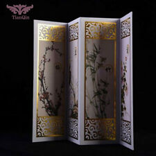 """1/6 Scale Chinese Modern Screen Model Toys Folding Furniture Wood F 12""""Hot toys"""