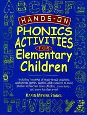 Hands-On Phonics Activities for Elementary Children (J-B Ed: Hands On)-ExLibrary