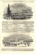 1844 Henley Regatta 8-oar'd Match Grand Review Phoenix Park