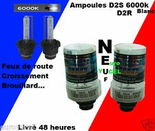 2 Ampoules Xénon D2S 6000k Renault Avantime Clio Espace Laguna NEUF