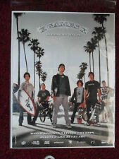2004 Print Ad X-Games L.A. Promo ~ Skateboard Motocross Extreme Sports