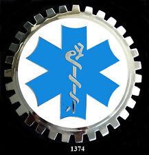 CAR GRILLE EMBLEM BADGES - AMBULANCE/EMERGENCY