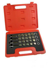 24PC OIL PAN THREAD REPAIR KIT SET SUMP DRAIN PLUG REPAIR KIT SET M13 15 17 20
