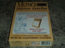 Munchkin Sketch Edition - Steve Jackson Games Card Board Game New!