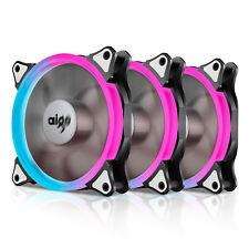 Aigo Aurora C3 Kit 120mm Quiet Edition Adjustable LED Case Fan for PC Cooler