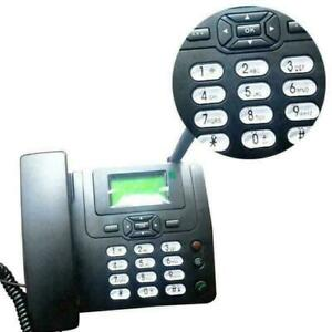 Festnetz Kabellos Telefon GSM 1800MHz Tischtelefon SIM-card Mobile Zuhause BüroB