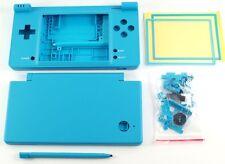 Nintendo DSi NDSi Full Replacement Housing Shell Case Screen Lens Blue NEW!