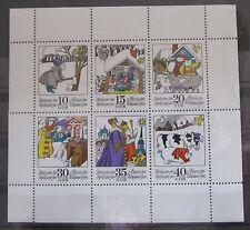 DDR Briefmarken 1974 Mi.1995-2000 Kleinbogen Zwitscher Zwitscher Postfrisch