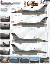 Two Bobs Decals 32033 1:32 Lockheed-Martin F-16C Golden State Griffins LAST ONE!
