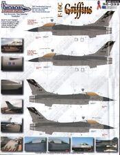 Two Bobs Decals 32033 1:32 Lockheed-Martin F-16C Golden State Griffins OOP