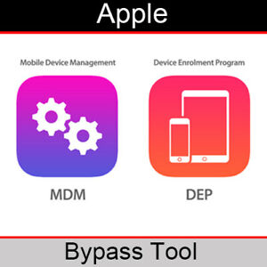Apple iPhone/iPad MDM / Mobile Device Management Lock Bypass Software