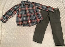 Gymboree/Carter's Toddler Boy Outfit Set Size 3T In EUC (BIN AO)